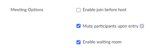 enable waiting room
