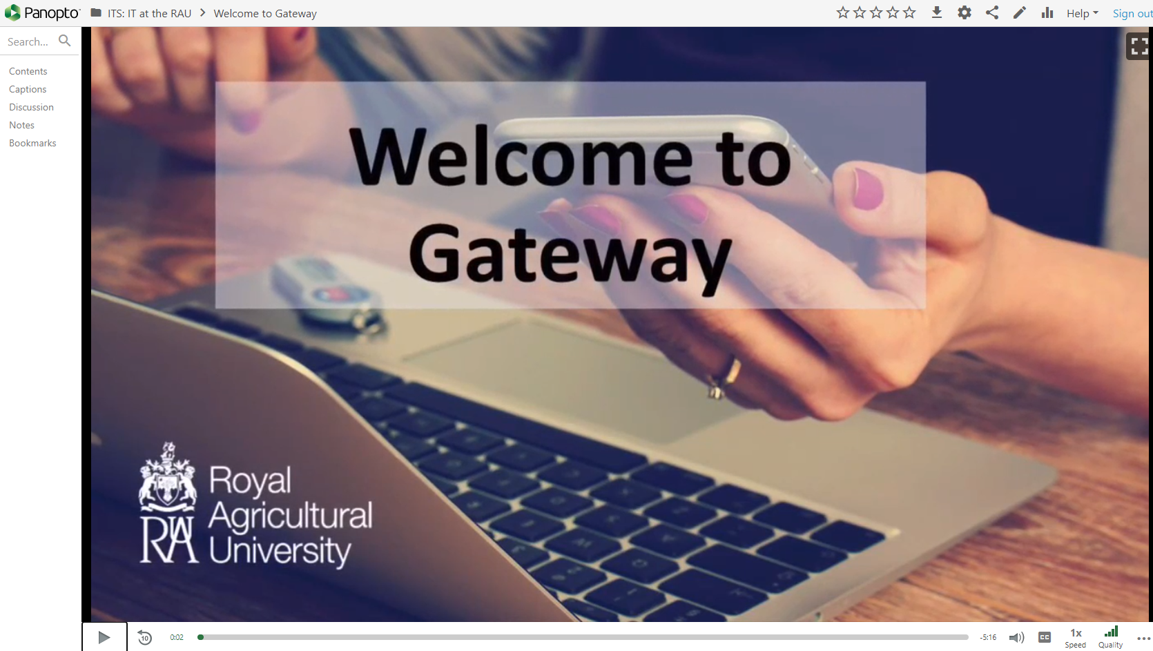 Welcome to Gateway